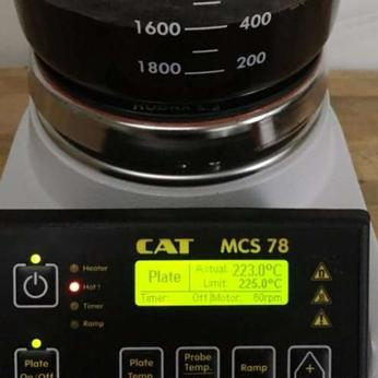 How to Purge Ethanol from Cannabis Oil Using the CAT MCS78 Hotplate Stirrer by CAT Scientific