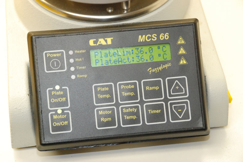 CAT stirring hot plate set point-1-1