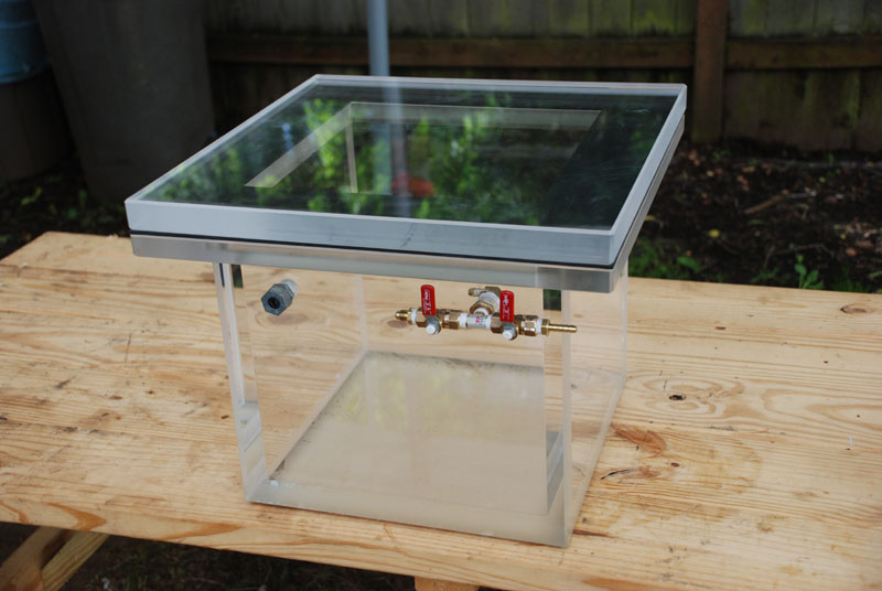 DIY Vacuum Purging Chamber | Skunk